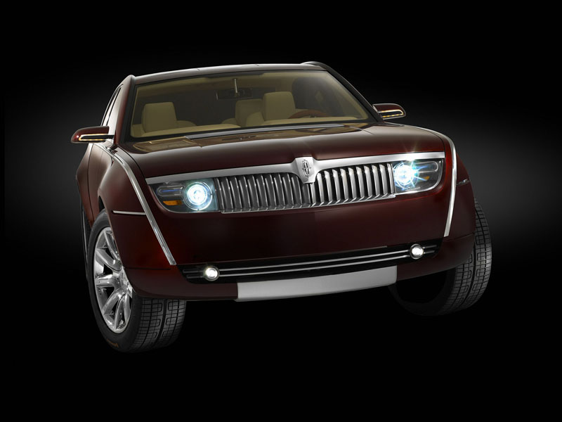 2008 lincoln mk9 concept car pictures