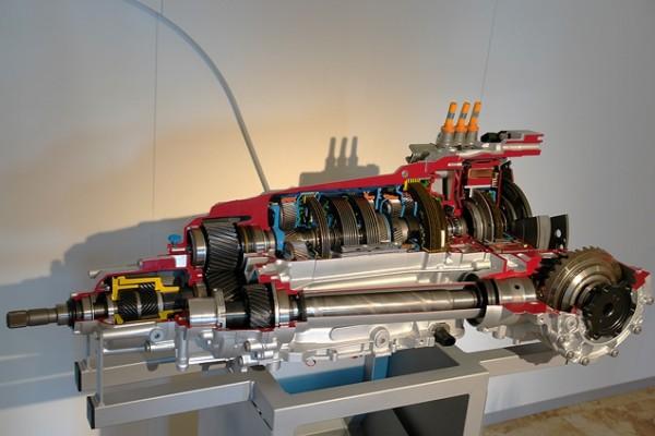 Схема гибридной установки Audi Q5 Hybrid quattro.