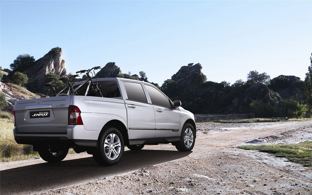 Фото SsangYong Actyon Sports 2. …