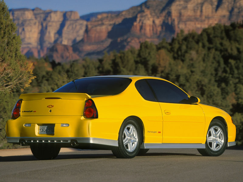 horsepowers chevrolet monte carlo supercharged ss 2005. Black Bedroom Furniture Sets. Home Design Ideas