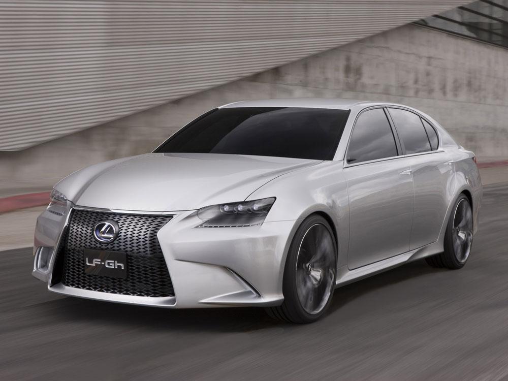 Lexus LF-Gh Concept Фото Lexus…
