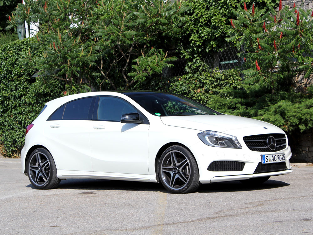 horsepowers mercedes a200 cdi amg sport package w176 2012. Black Bedroom Furniture Sets. Home Design Ideas