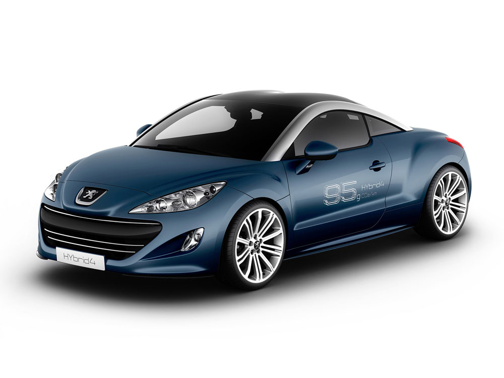 horsepowers peugeot 308 rcz hybrid4. Black Bedroom Furniture Sets. Home Design Ideas