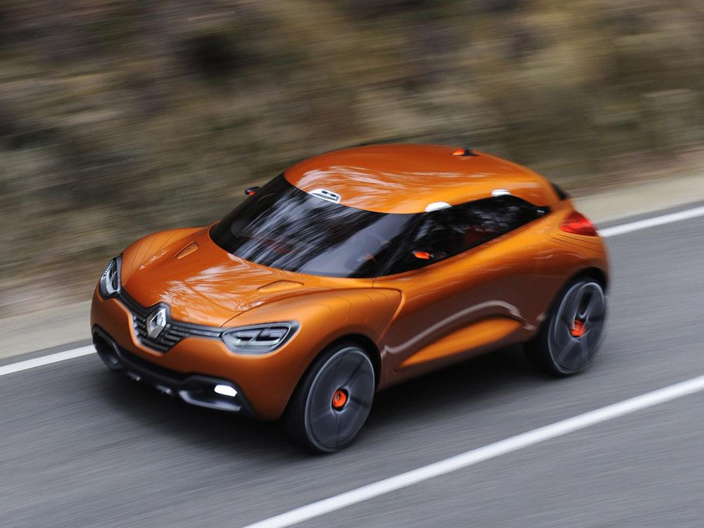 Новый кроссовер компании Renault…
