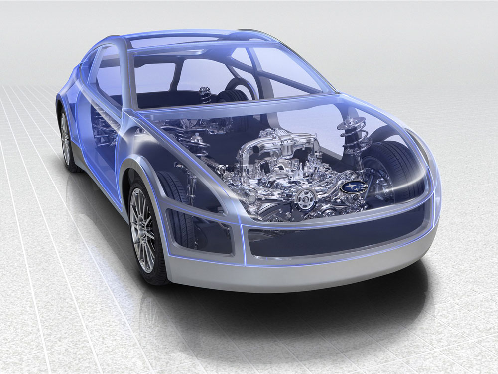 2011 Subaru Boxer Sports Car Con…