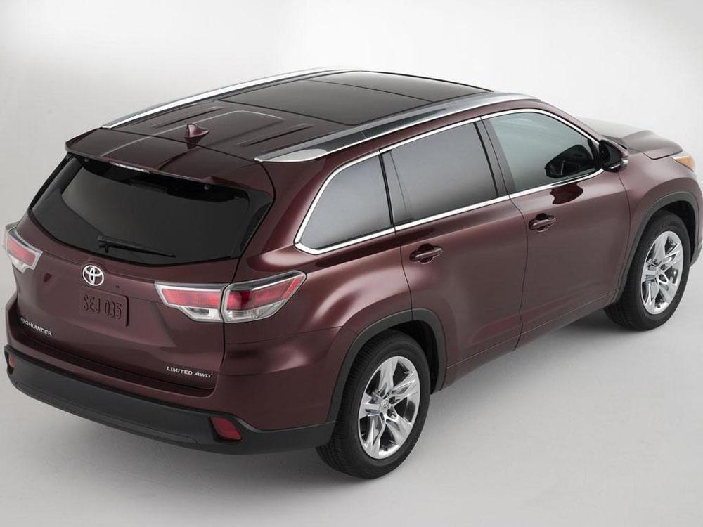 Дизайн автомобиля Toyota Highlander …