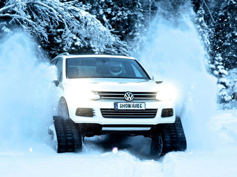 Volkswagen Snowareg для сурового сев…