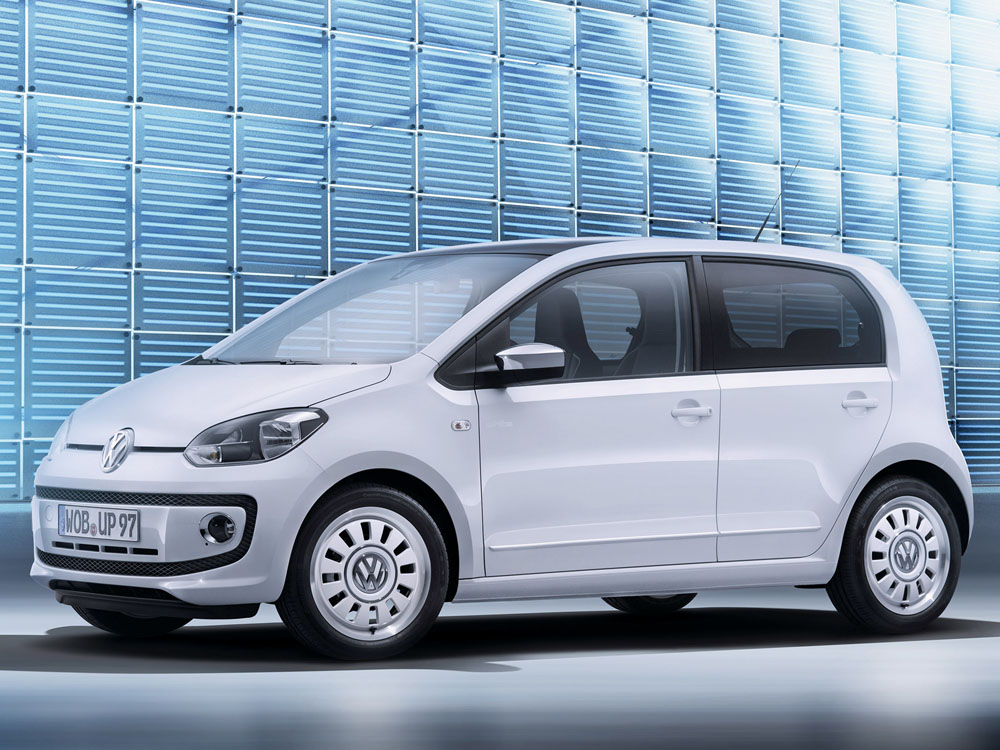 Фото Volkswagen Up 2013 года.