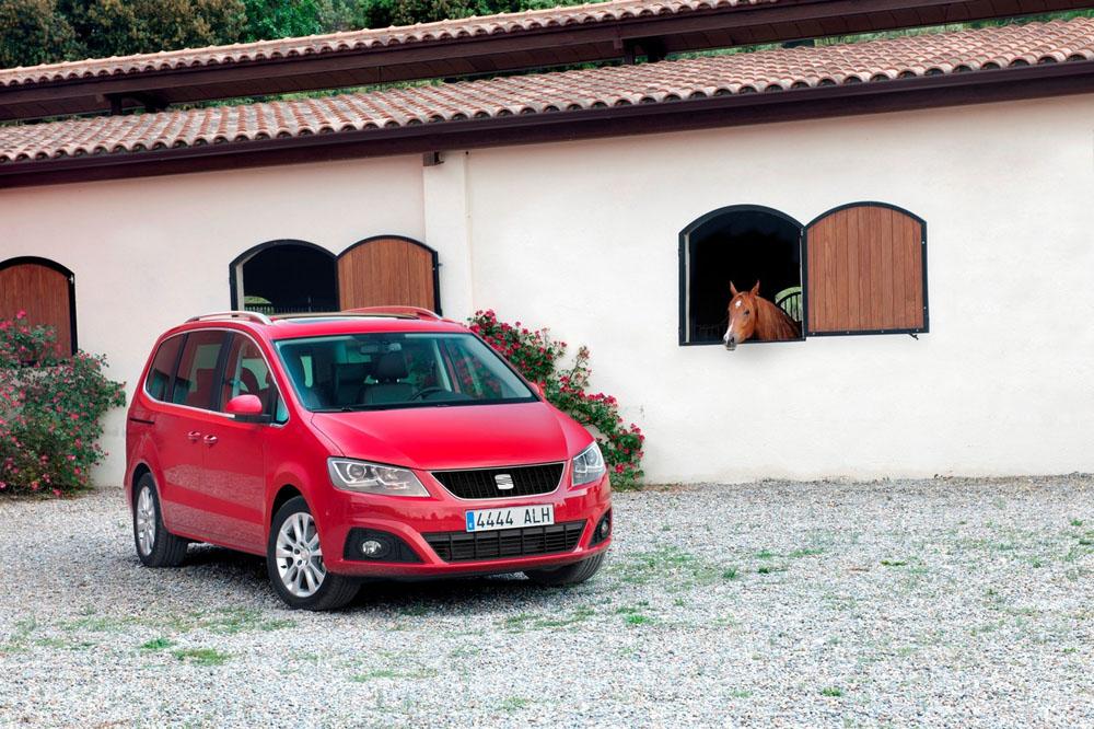 Фотографии Seat Alhambra 4WD.