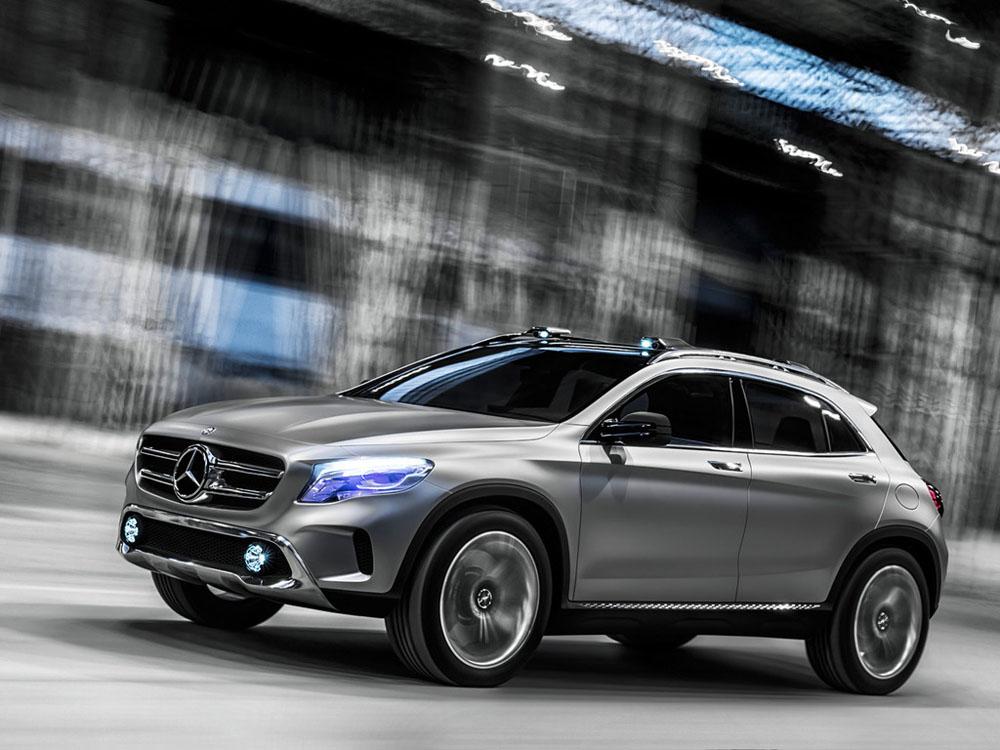 Mercedes GLA Concept Фото Merc…