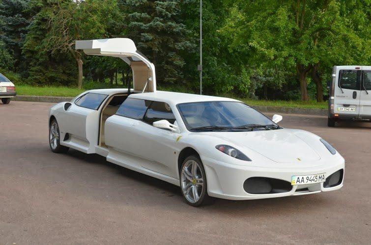 Ferrari F430 Stretch Limousine Photos Drive Away 2day