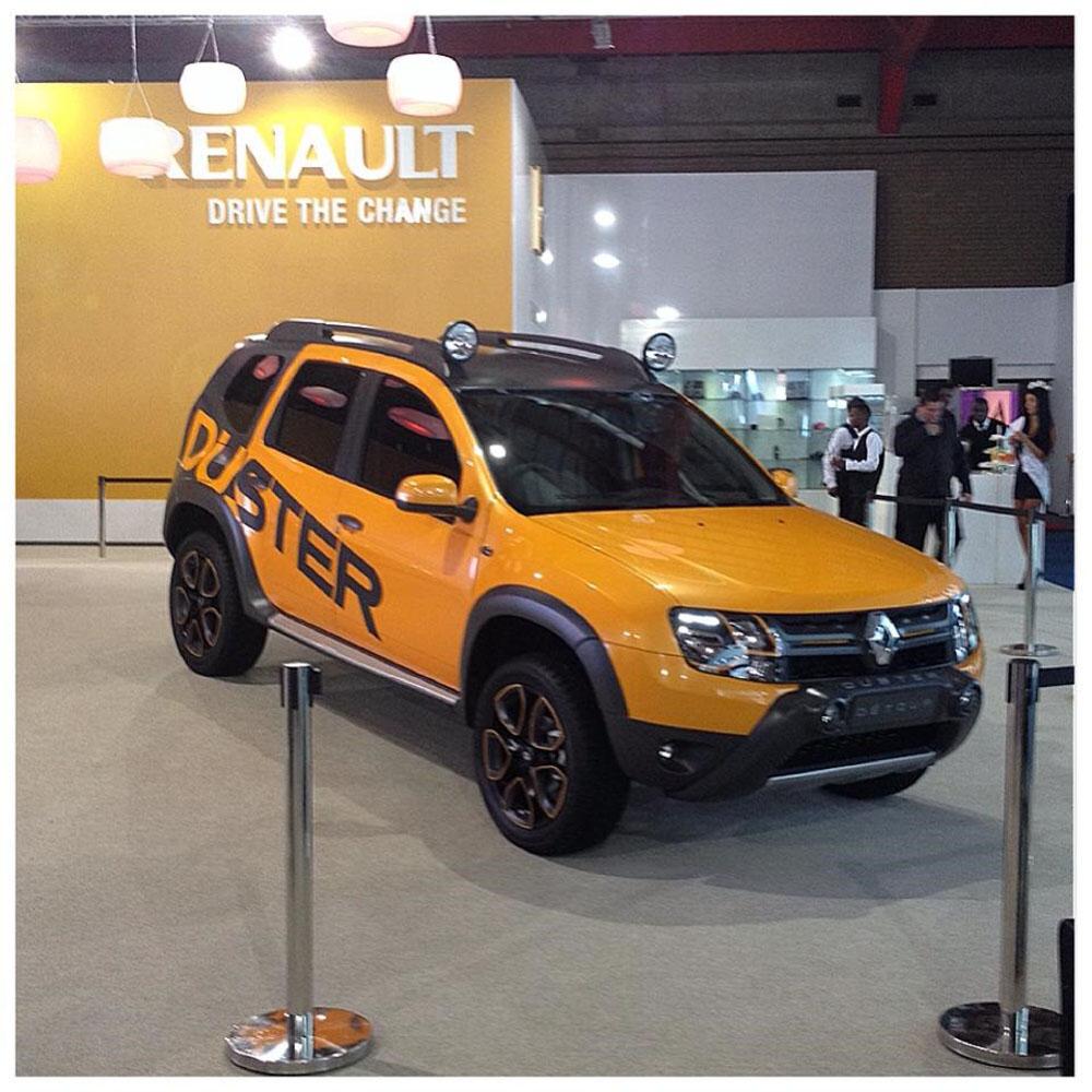 Новый концепт Renault Duster Detour представлен в стиле «Безумного ...