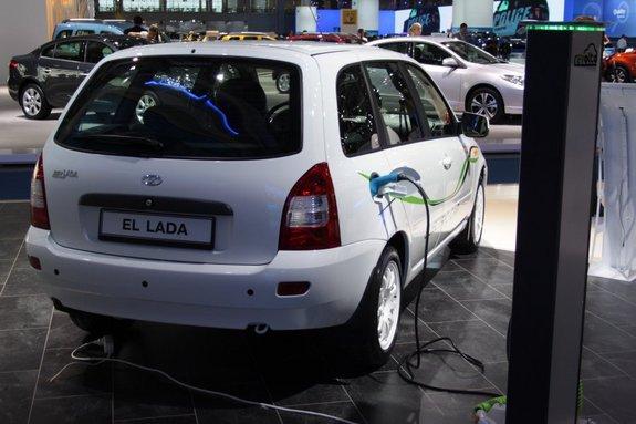 Электрическая Lada El Lada 2014 Фото 02