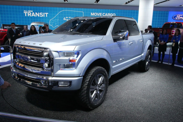 Ford Atlas Concept 2013 Фото 01