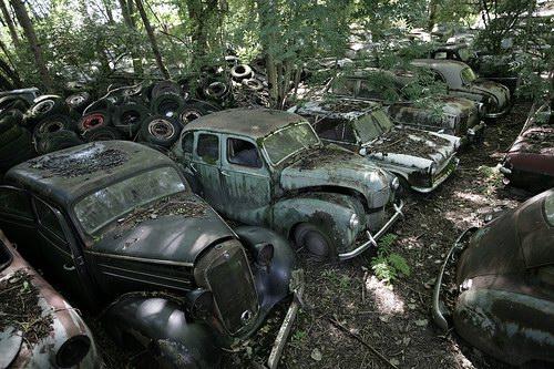Кладбища автомобилей Фото 01