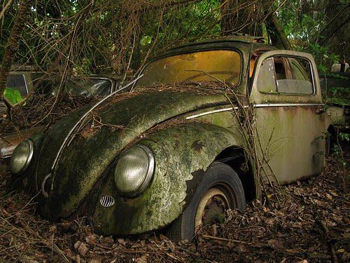 Кладбища автомобилей Фото 03