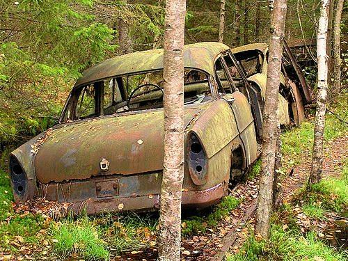 Кладбища автомобилей Фото 04