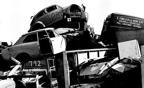 Кладбища автомобилей Фото 05