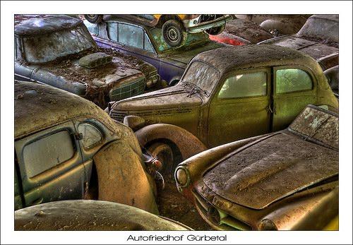 Кладбища автомобилей Фото 10