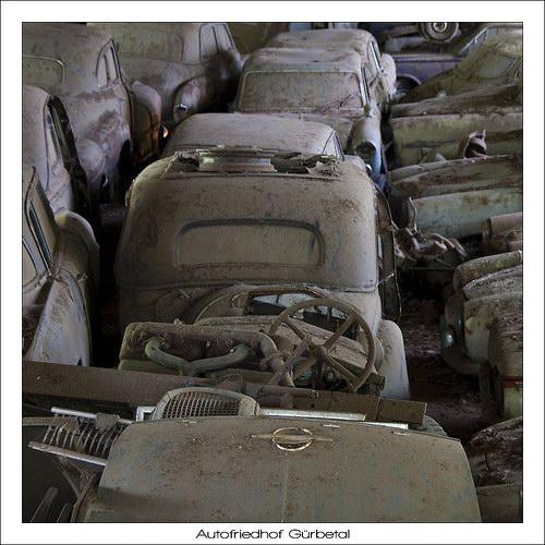 Кладбища автомобилей Фото 12