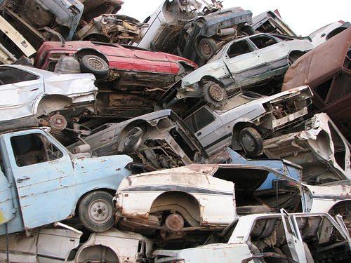 Кладбища автомобилей Фото 13
