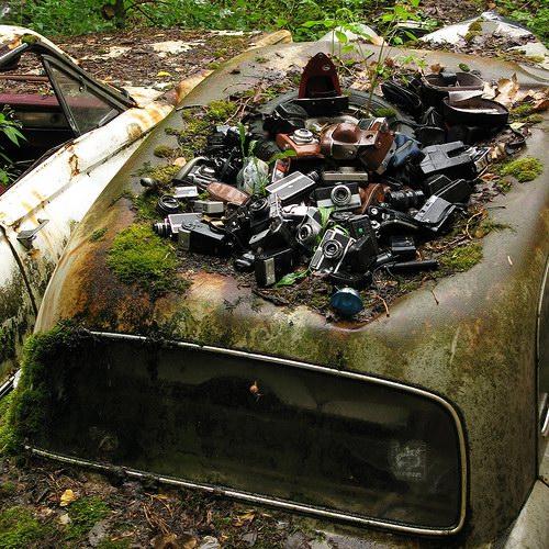 Кладбища автомобилей Фото 14