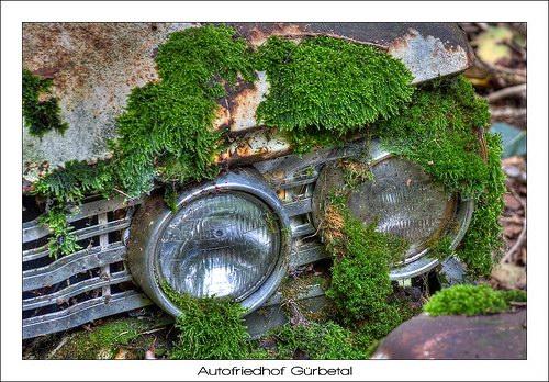 Кладбища автомобилей Фото 15