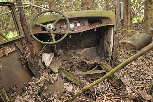 Кладбища автомобилей Фото 19