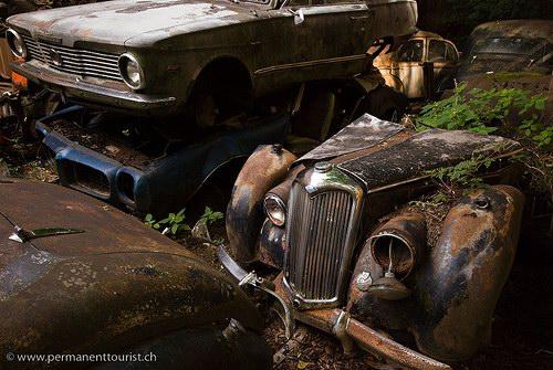 Кладбища автомобилей Фото 24