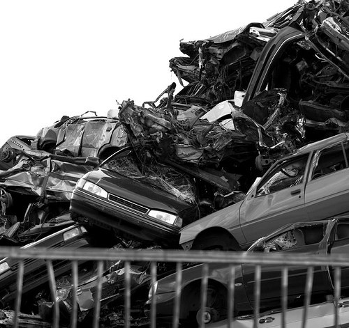 Кладбища автомобилей Фото 26