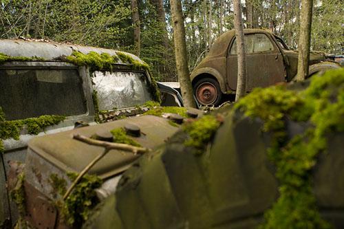Кладбища автомобилей Фото 27