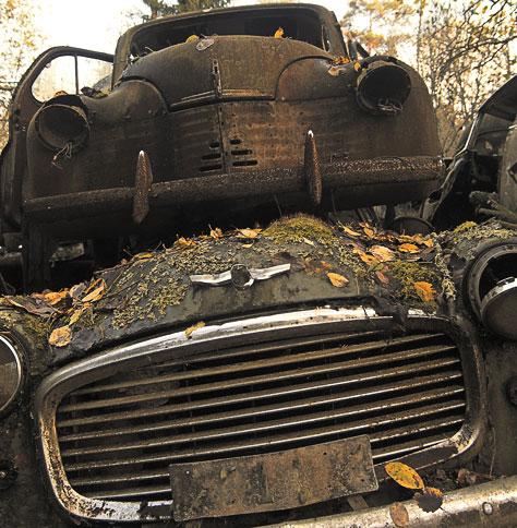 Кладбища автомобилей Фото 28