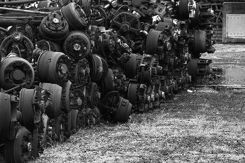 Кладбища автомобилей Фото 31