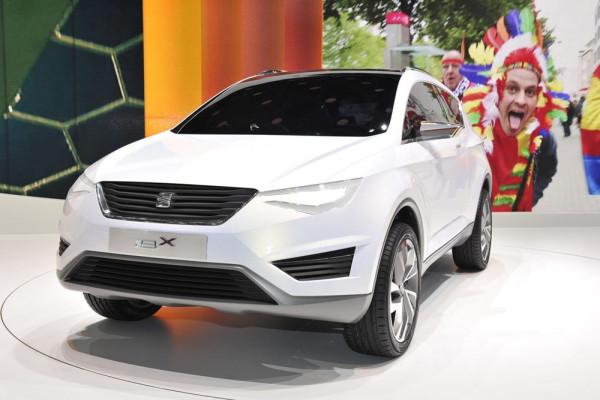 Кроссовер Seat IBX концепт 2012 фото 01