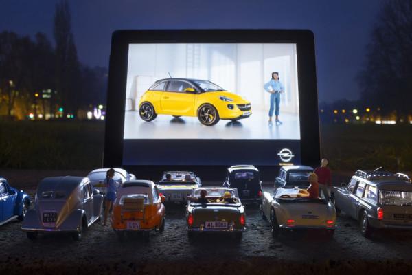 Модели автомобилей Opel Adam 2014 Фото 03