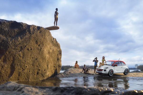 Модели автомобилей Opel Adam 2014 Фото 12
