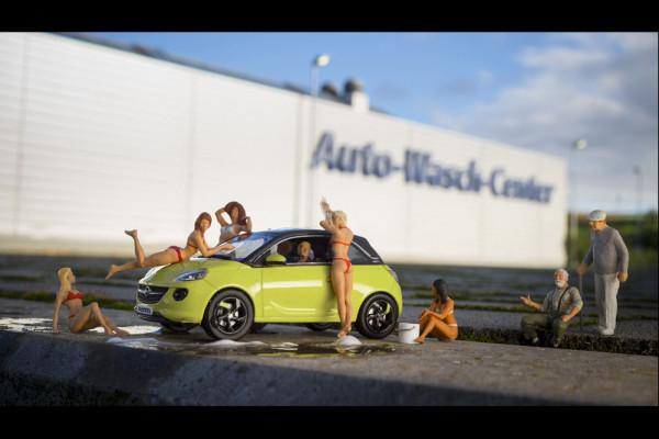 Модели автомобилей Opel Adam 2014 Фото 13