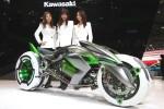 Трехколесный концепт Kawasaki  2014 Фото 1