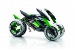 Трехколесный концепт Kawasaki  2014 Фото 4