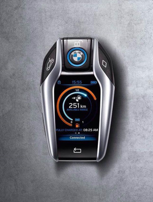 суперкар BMW i8 2014 брелок ключи Фото 11