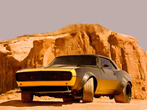 Chevrolet Camaro SS 1967 Bumblebee Transformers 4 2014 Фото 01