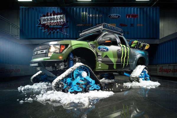 Ford F-150 Raptor TRAX 2014 года
