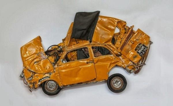 Гербарий из автомобилей Фото 02