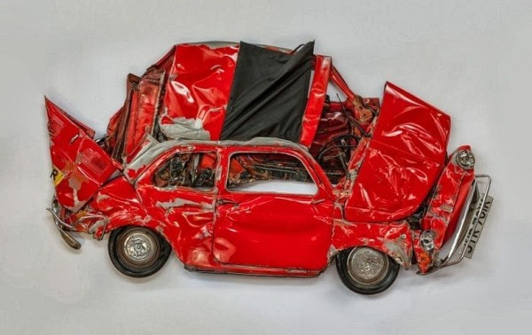 Гербарий из автомобилей Фото 09