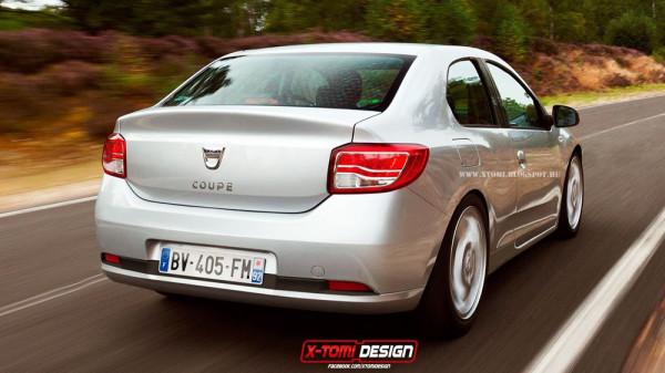 Концепт Dacia (Renault) Logan купе  - Фото 02