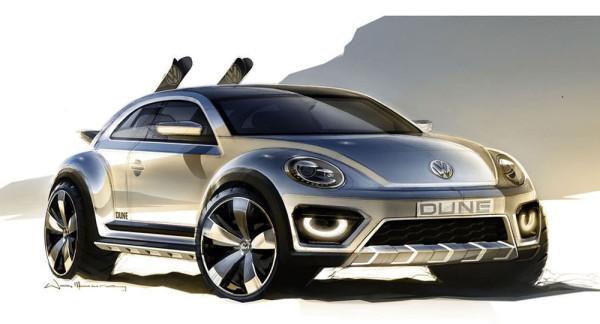 Концепт Volkswagen Beetle Dune 2014