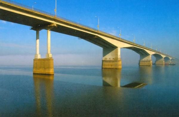 Мост через реку Каму