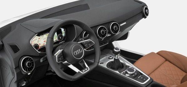 Новая Audi TT - интерьер