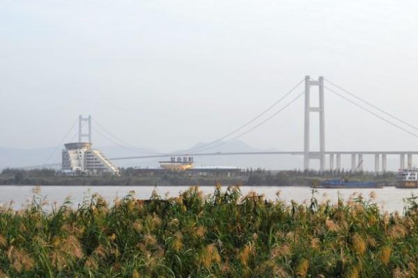 Runyang мост в Китае