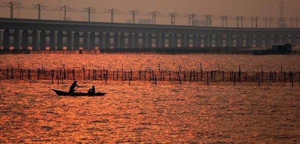 Тяньцзинь Гранд мост в Китае